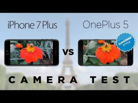 OnePlus 5 vs iPhone 7 Plus Camera Test Comparison