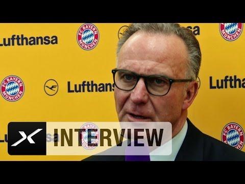 Jerome Boateng zurück: Karl-Heinz Rummenigge froh und glücklich   Atletico Madrid - FC Bayern