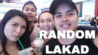 RANDOM LAKAD with Thuy, Aura and Kuya Ome!