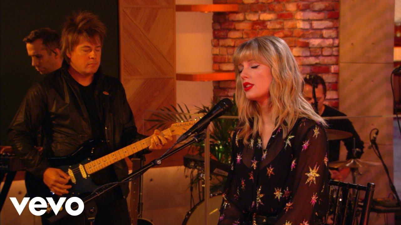 """Taylor Swift - BBC Radio 1「Live Lounge」にて""""The Archer""""など6曲を披露 スタジオライブ映像を公開 thm Music info Clip"""