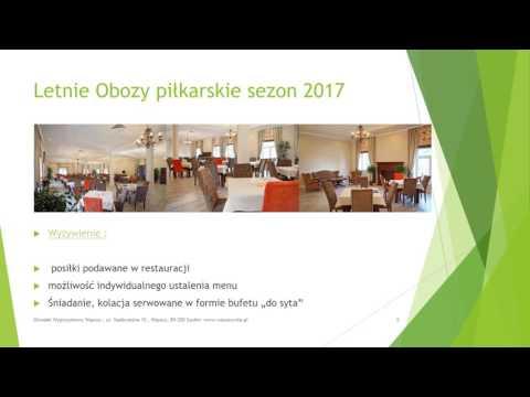 Letnie Obozy Sportowe Piłka Nożna 2017/2018
