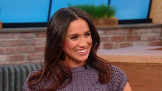 Throwback: Future Royal Meghan Markle Dishes On Her Now-Retired Website, The Tig | Rachael Ray Show