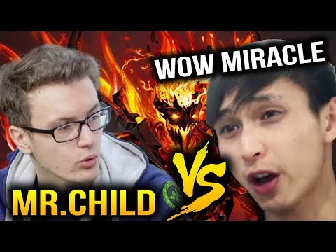 Miracle- VS SingSing and Gorgc - Really Try Hard Party Game Dota 2 7.07