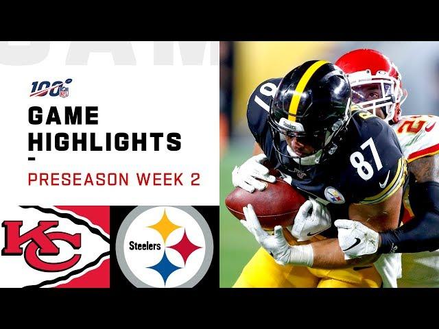 Chiefs vs. Steelers Preseason Week 2 Highlights   NFL 2019 thumbnail