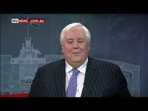 Clive Palmer on Sky News show Richo + Jones