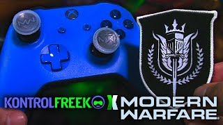 "KontrolFreek Modern Warfare ""A.D.S."" Unboxing/Review! [Call of Duty MW Thumbsticks + Patch]"