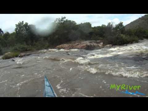 Nagle Dam Weir - Umgeni River, Table Mountain (13 cumecs)