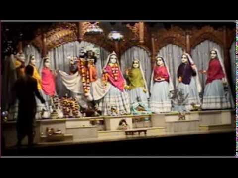Mangal Artik - Sri Mayapur Dham - Iskcon - Chandrodaya Mandir - Darshan - 02 08 2014 video