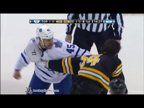Mark Fraser vs Adam McQuaid Mar 7, 2013