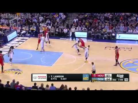 Houston Rockets vs Denver Nuggets - Full Game Highlights | March 7, 2015 | NBA 2014-15 Season