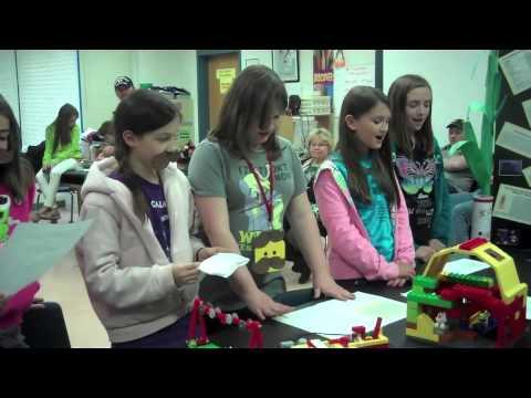 Lego Challenge 2013 - West Rowan Middle School