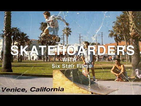 Insane collection of skateboard history | SkateHoarders | Six Stair Films | Season 2 Ep 3