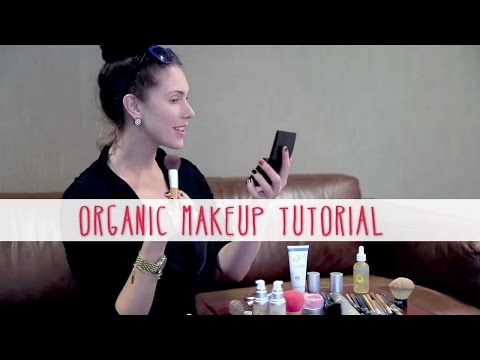GIVEAWAY + Organic Makeup Tutorial! Everyday Natural Beauty Look With Juice Beauty!