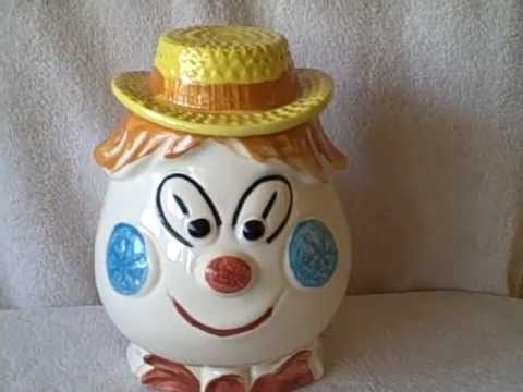 Unique Cookie Jar Might Be Homemade Home Made Happy Guy