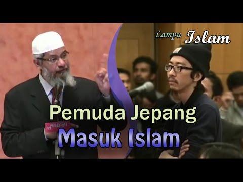 Pemuda Jepang Masuk Islam Setelah Diskusi Dengan Dr. Zakir Naik