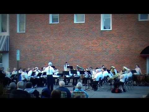 MERRY GO ROUND by SOUTHWESTERN MICHIGAN COLLEGE BRASS BAND in DOWAGIAC 2013
