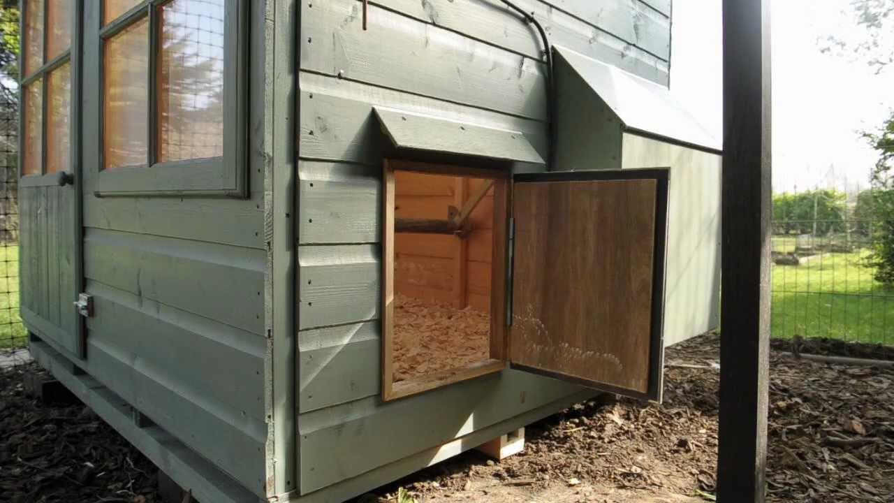 Automatic Chicken Coop Door With Wiring Diagram