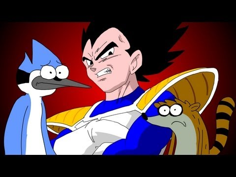 REGULAR SHOW vs DRAGONBALL Z  - UCF round 2