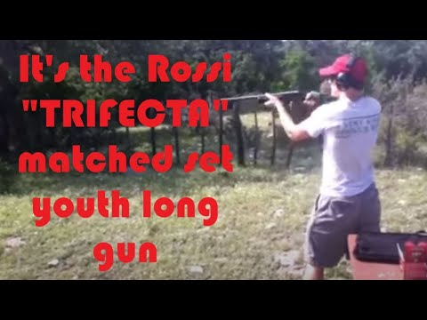 Review of the Rossi Trifecta youth-sized long gun set