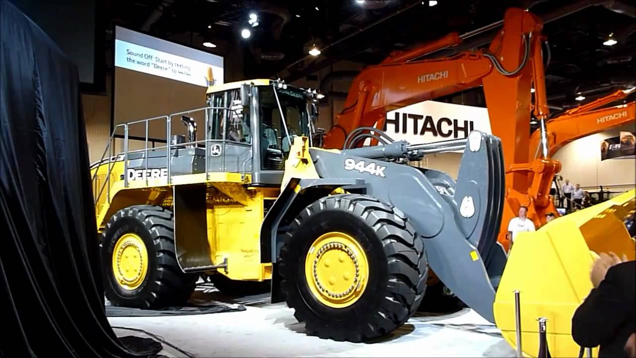 New Deere 944k Wheel Loader Youtube