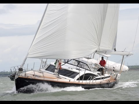 Watch Yachting Monthly's Discovery 57 test