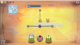 Cut The Rope Time Travel - SeaSon 4 - Ancient Egypt 4.1-4.15