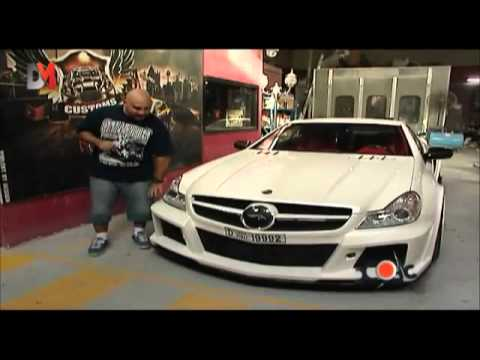 ROYAL CUSTOMS releases the SL FAB DESIGN 2011 Limited Edition Body kit on DMTV