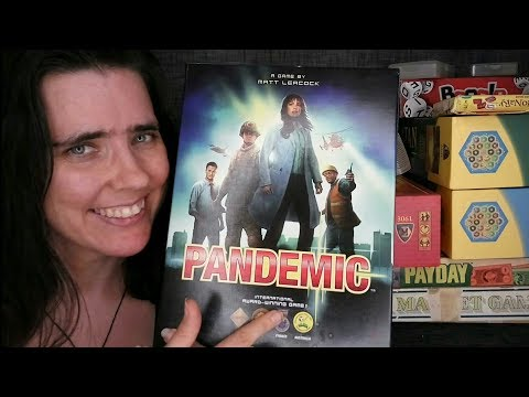 ASMR Board Game Sales Role Play (Pandemic)