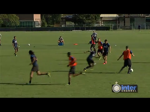 ALLENAMENTO INTER REAL AUDIO 20 08 2013