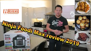 Ninja Foodi Max review 2019 Pressure cook air crisp slow cook all in one