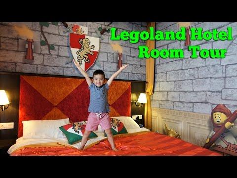 Legoland Hotel Kingdom Suite Room Tour And Unlocking Secret Treasure Chest With Ckn Toys