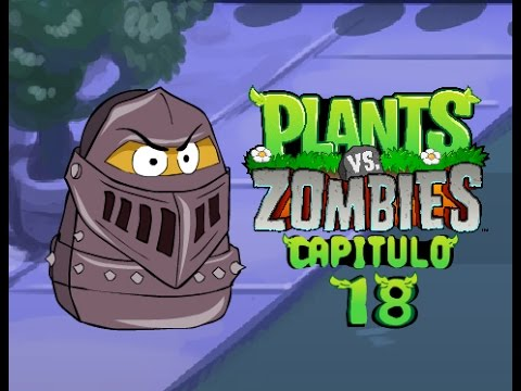 La aventura de Plantas vs Zombies 18