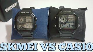 Casio AE-1200WH VS Skmei 1299