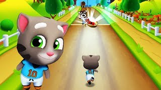 Football Tom Chạy Lấy Vàng Ở Nông Trại #126 - Talking Tom Gold Run
