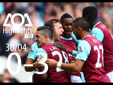 West Bromwich Albion vs West Ham 0-3 All Goals & Highlights (HD) 30/04/2016