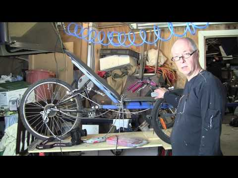 How I Made My  Recumbent Trike