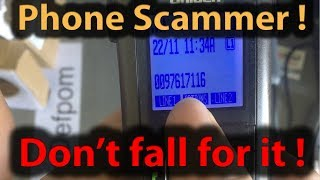#306 Tech Support Scammer Called Me