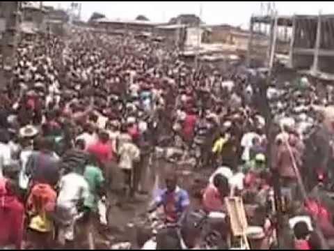 Manifestation pacifique du 23 mai 2013 - Conakry