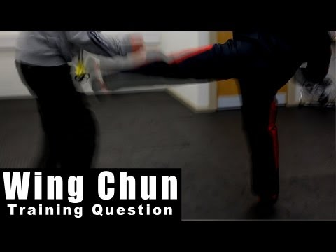 wing chun techniques - Pre-emptive side kick Q75 Image 1