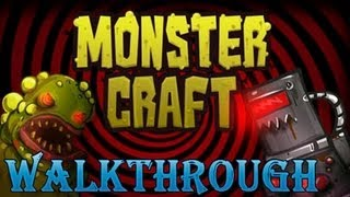 Прохождение игры monster craft