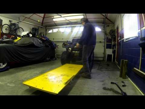 ATV LIFT - Easy way to do Maintenance & Repairs
