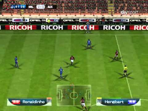 [ PES6 ] 2010-11 UEFA Champions League Matchday 1, Group F: AC Milan - AJ Auxerre