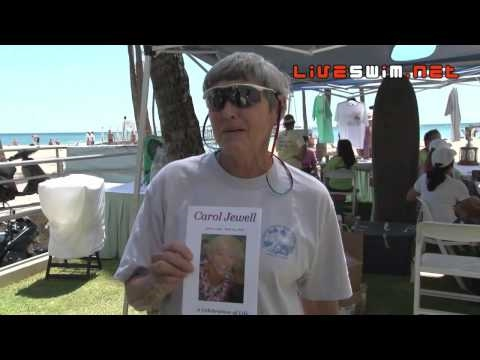 2010 Waikiki Rough Water Swim - Ellen Shockro Interview