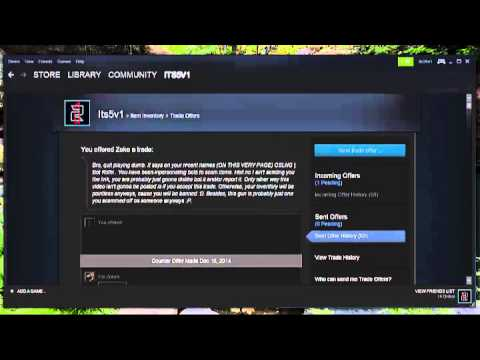 Scammer Gets Dumb Steam Scammer Gets Owned