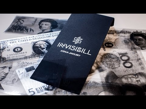 Invisibill by Josh Janousky Presented by Murphys Magic