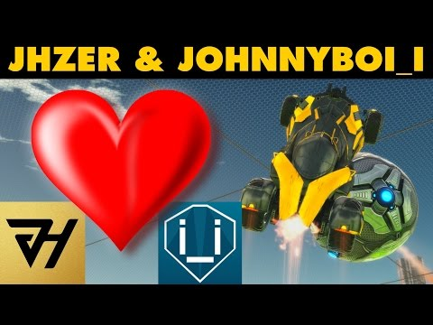 Rocket League | JHZER & JohnnyBoi_i | Competitive 2v2 (Highlights)