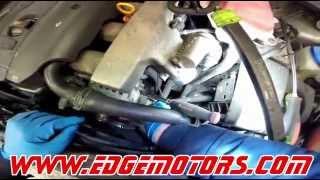 VW Passat Audi A4 Clutch Fan Bearing Repacement DIY by Edge Motors