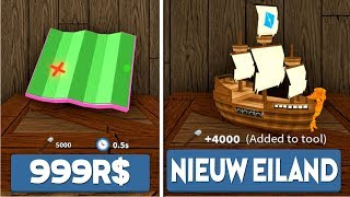 ROBLOX TREASURE HUNT! NIEUWE ISLANDS + PETS! (ROBUX GIVEAWAY)