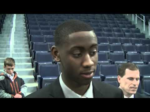 Caris LeVert at Michigan basketball banquet