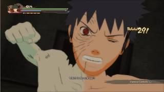 Obito awakens Mangekyo Sharingan from Rins Death - Naruto Ultimate Ninja Storm 4 Story Mode